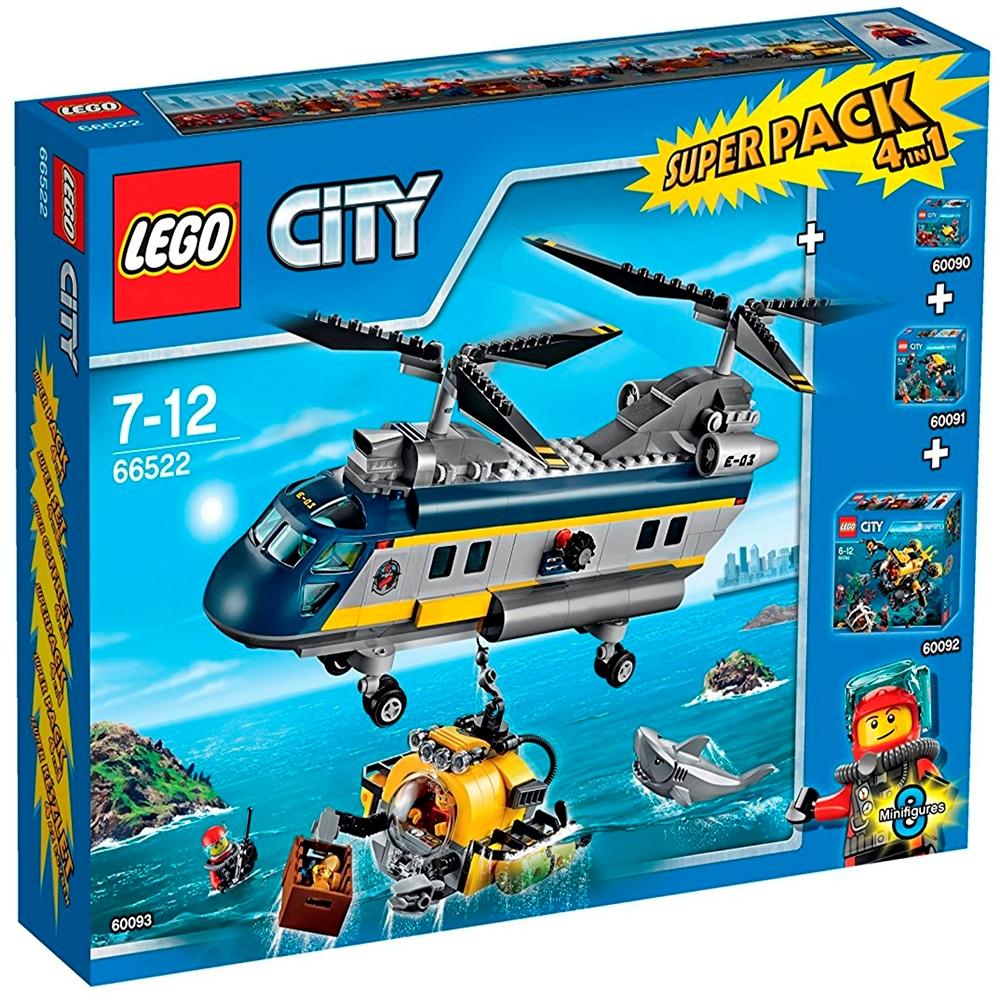 66522 Lego City Dybhavs Superpack Altid Pænt Udvalgsuper Gode Tilbud