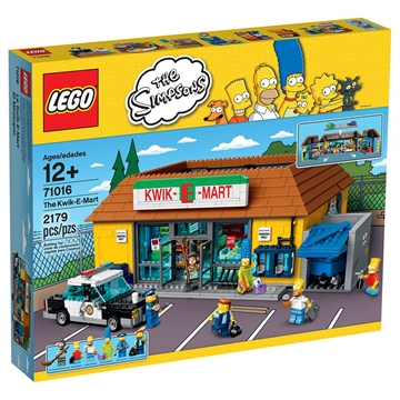 The Kwik-E-Mart LEGO hard to find 71016