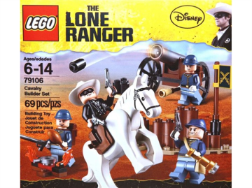 Cavalry Builder Set LEGO hard to find 79107