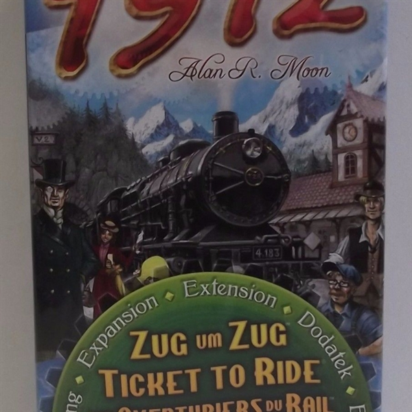 Europa 1912 Expansion to Ticket to Ride - Days of Wonder lfcabg130